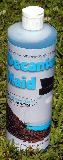 DECANTER MAID® Coffee Pot Cleaner