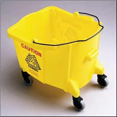 MOP BUCKET 26/35 QTYELLOW