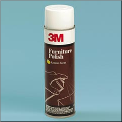 FURNITURE POLISH-LEMON  SCENT,AEROSOL