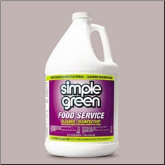FOOD SERVICE DISINFECTANT CLEANER 4/1GAL