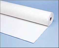 "TABLE COVER ROLL40""X300' WHT"