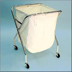 X-FRAME STYLE LAUNDRY CADDY W/BAG