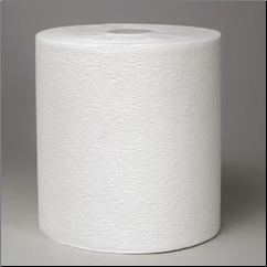 KLEENEX HARD ROLL TOWEL,WHITE