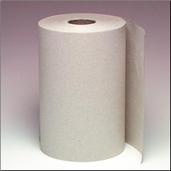 ROLL TOWEL,NON-PERFORATED,NATURAL