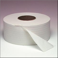 JR JRT T/T  1PLY NON-PERFORATED, WHITE
