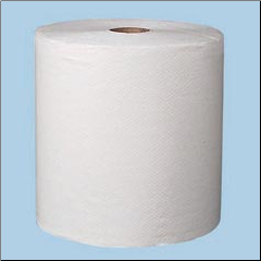 PREFERENCE ULT,2-PLY ROLL TWL,WHT