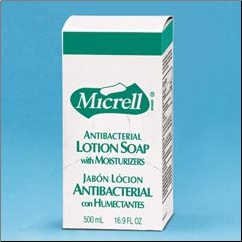 MICRELL ANTIBAC LOT SOAP 18/500ML