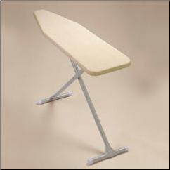 HVY DTY COMMERCIAL IRONING BOARD, PEARLSCENT KHAKI