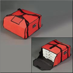 PIZZA DELIVERY BAG, LARGE, RED