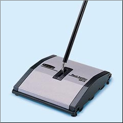 DUAL ACTION SWEEPER,GRAY