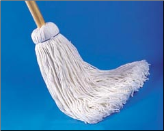12 OZ HANDLE MOP -COTTON