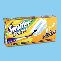 SWIFFER DUSTER W/EXTEND HNDL