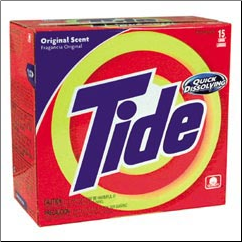 TIDE LAUNDRY PWDR,15USE