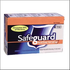 SAFEGUARD BATH BAR,4.3OZ
