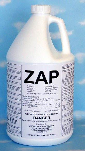 Zap Detergent Disinfectant