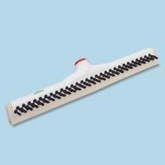 "18"" SANITARY BRUSH, FLOOR SQUEEGEE"