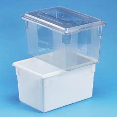 DEEP FOOD BOX,CLEAR,9