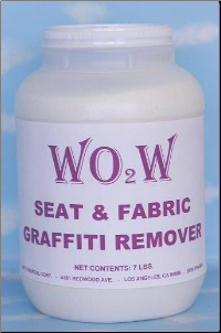 WO2W® Fabric/Graffiti Remover