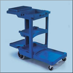 CLEANING TROLLY 2000,BLUE